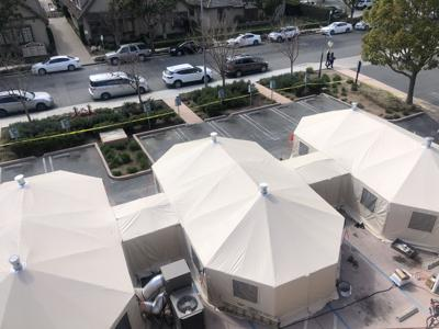 SVMHS Tents