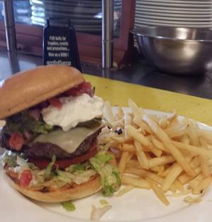 Bay Cafe Burger
