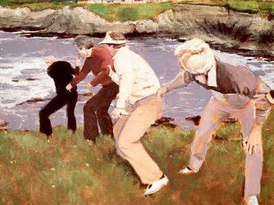 A round of 18 memorable moments from Pebble Beach Pro-Am