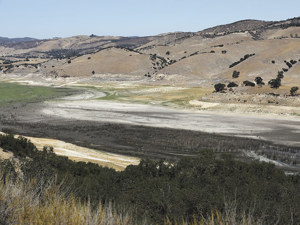 Parched California