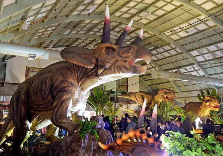 Jurassic Quest atFair Park에 대한 이미지 검색결과