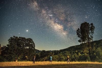 Los Padres Milky Way