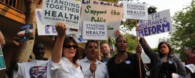 Supporters and skeptics turn out for Monterey health care town hall.