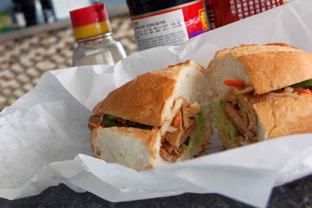 Chopstix bahn mi Vietnamese sandwich (copy)