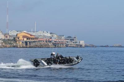 Fast Raft Marine Eco Tours does unique Monterey Bay joyrides.