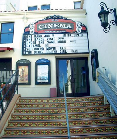 Osio Cinemas, on Alvarado Street in Old Monterey