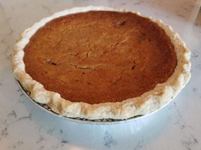 Sweet potato pie, Perfect Crumb