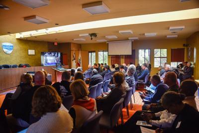 Marina City Hall livestream of Coastal Commission Hearing