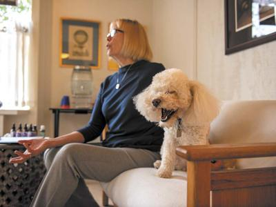 Pet care goes to the next level with animal communicators and aromatherapy in Carmel.