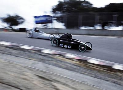 Extreme gravity cars are fast, cool and don't need fuel.