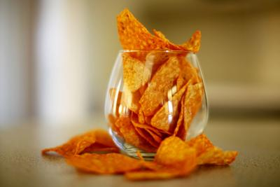 Doritos and wine
