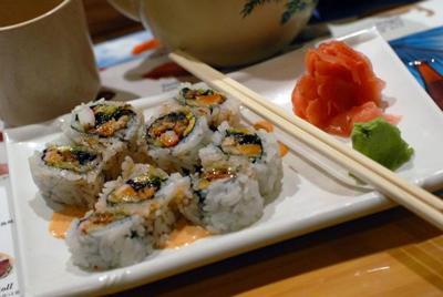 Ikebana Sushi expands on a good idea.
