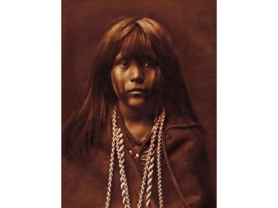 """""""Mosa of the Mohave"""" by Edward S. Curtis."""