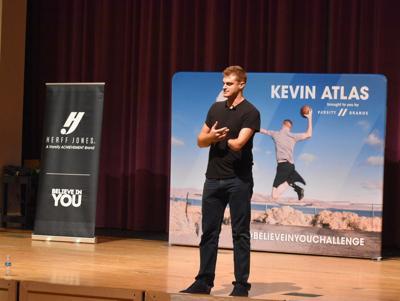 Kevin Atlas at Salinas High School