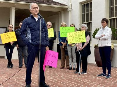 m1w sewer rate increase protest
