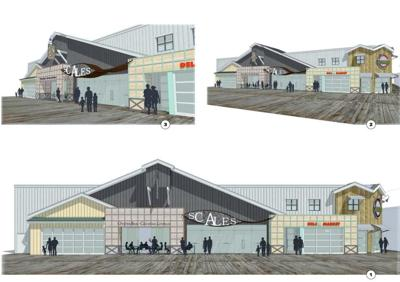 Scales renderings on Fisherman's Wharf