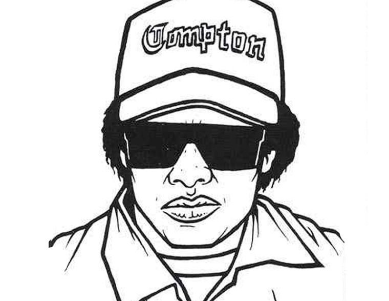 Eazy E Coloring Pages Coloring Pages