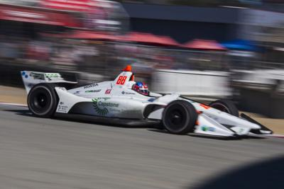 Herta claims the pole after a controversial decision for Sunday's Firestone Grand Prix of Monterey.