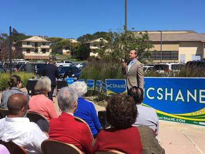 Salinas City Councilman Steve McShane launches campaign for county supervisor seat.