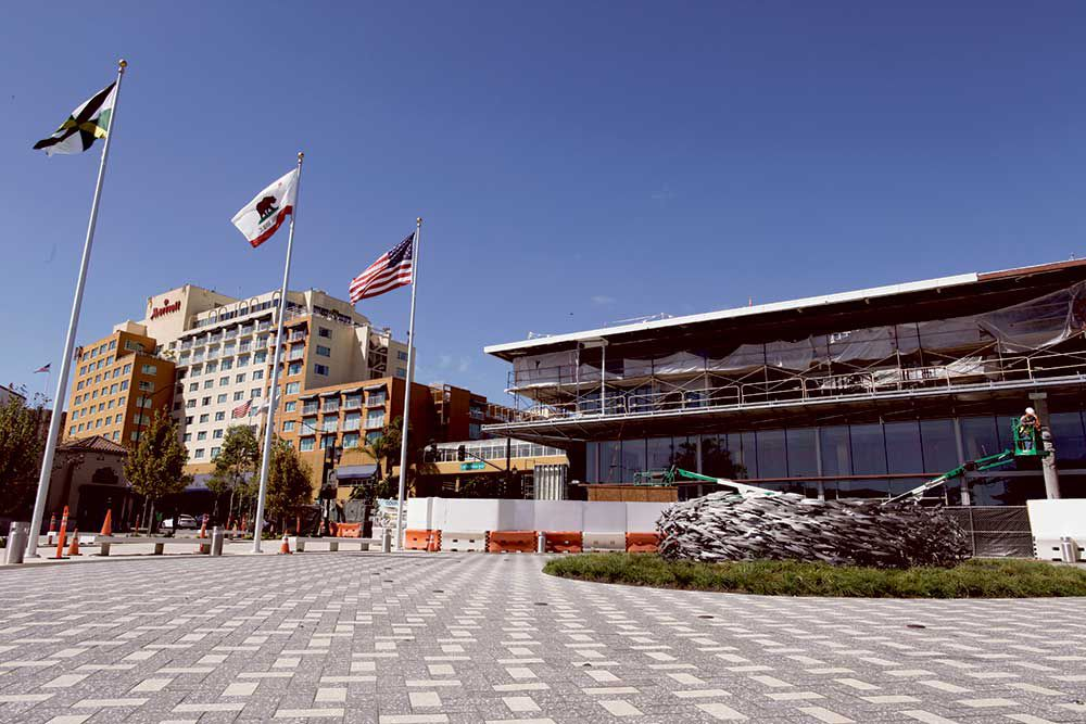 A vague completion date and legal troubles haunt Monterey Conference  Center. Waiting Game