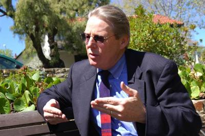 Bill Monning will vie for Assembly seat—but only if Laird is forced out.