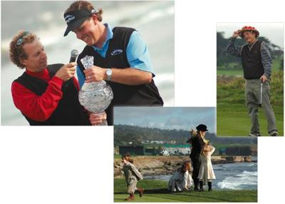 The 2007 AT&T Pro-Am played by its own unreal rules.