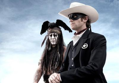 The Lone Ranger, like its star, gets lost in wisecracks and mugging.