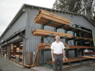 Bill Hayward Pictured At The Pacific Grove Lumberyard Was Selected As Lumber Building Material Journal S Entrepreneur Of Year For His Healthy