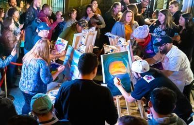 Art Battle Monterey at MHAA Salvador Dali