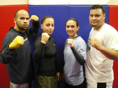 Two Salinas women get set to rock the ultimate fighting world.