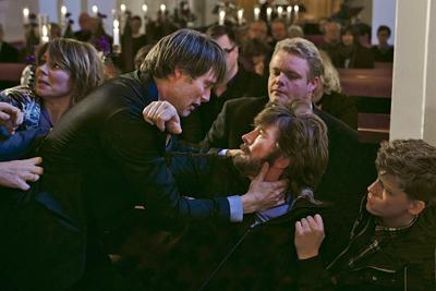 In The Hunt, acclaimed Danish director Thomas Vinterberg stirs drama surrounding false accusations.