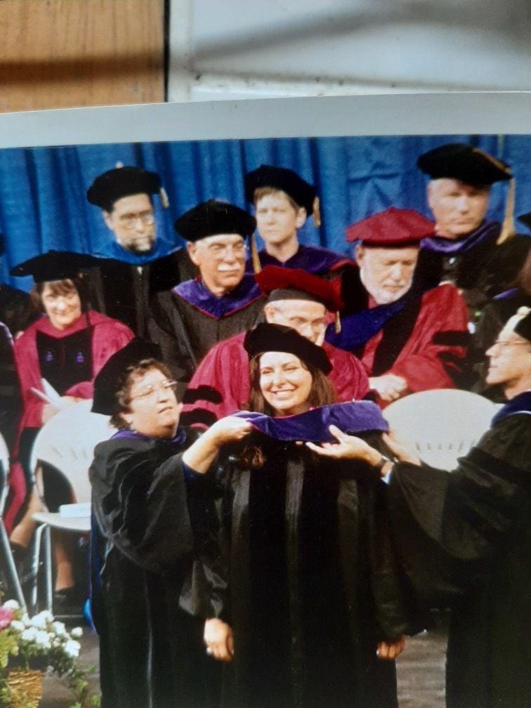 Tara Reade graduation