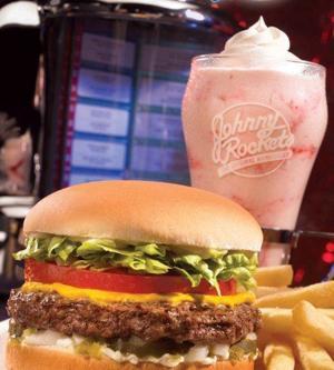 johnny rockets burger and shake