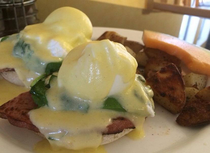 Bay Cafe eggs