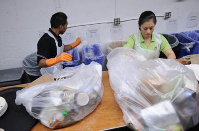 Multinationals talk marketing, while locals implement zero waste behind the scenes.