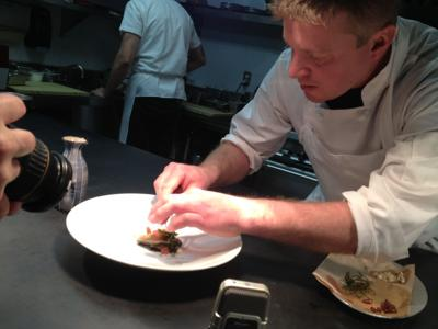 Cogley in the kitchen (copy)