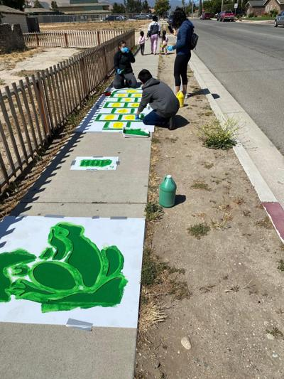 coloring safe routes to school