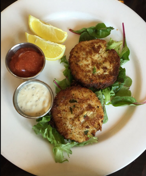 Bay Cafe Crab Cakes