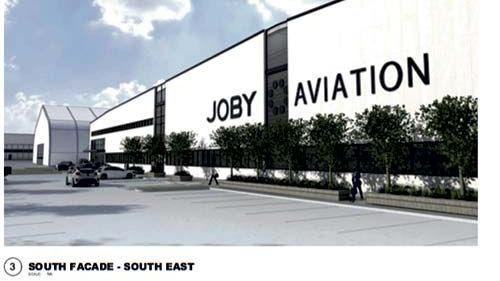 Joby Aviation plans to build a massive <b>factory</b> for flying cars in Marina.