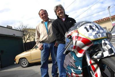 Monterey man looks to go 170 mph on a two-stroke motorcycle  | Local