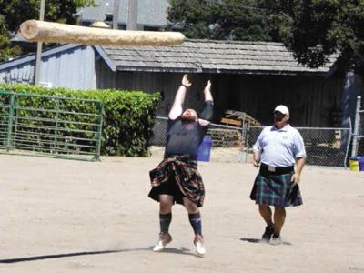 Scottish games celebrate music, sports, meat pies and all