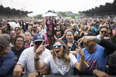 PHOTOS: Good vibes at the 10th annual California Roots Festival.