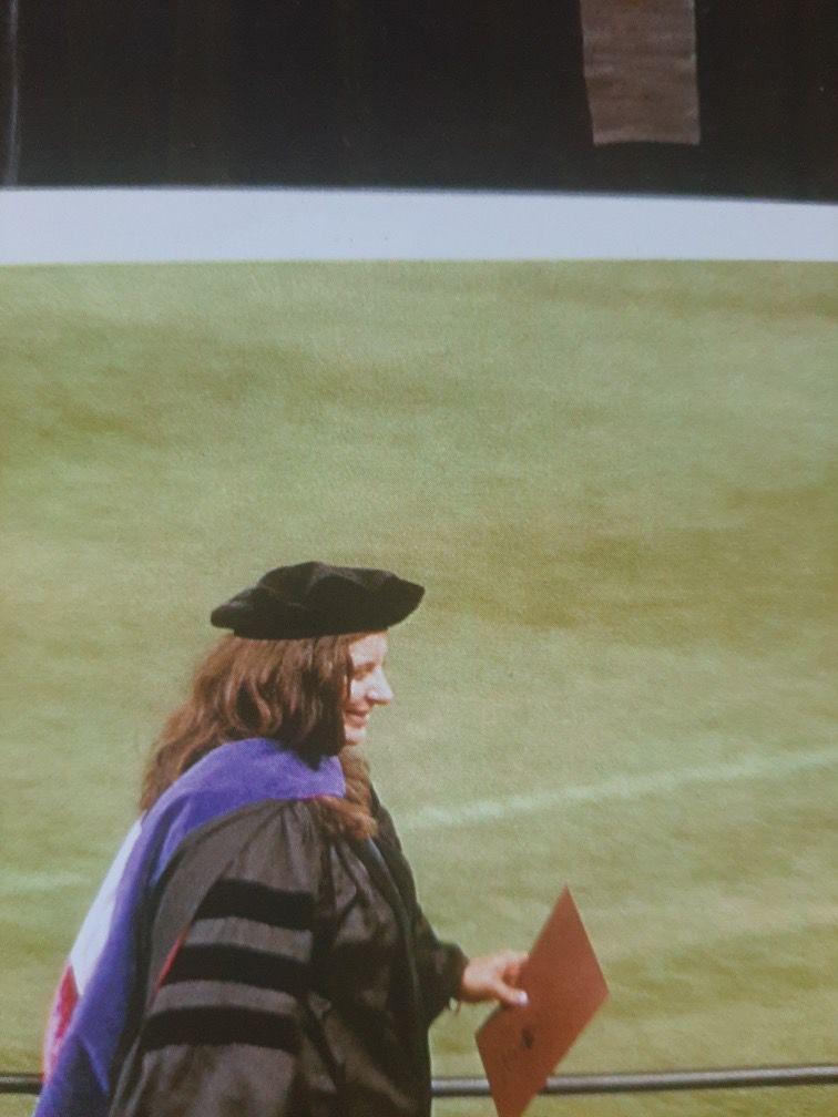 Tara Reade graduation 2