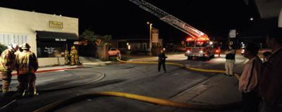 A Monterey salon catches fire