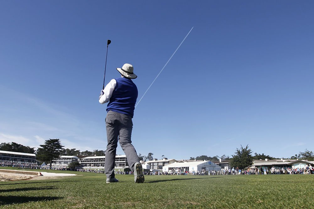 PHOTOS: Celebs and sun at the 2016 AT&T Pebble Beach Pro-Am ... on