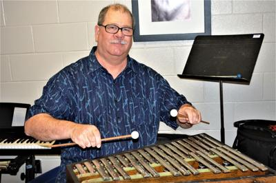 Researching AUM - Mark Benson in tune with Montgomery