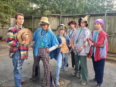 Montgomery Catholic students offer scares and treats at Zoo Boo