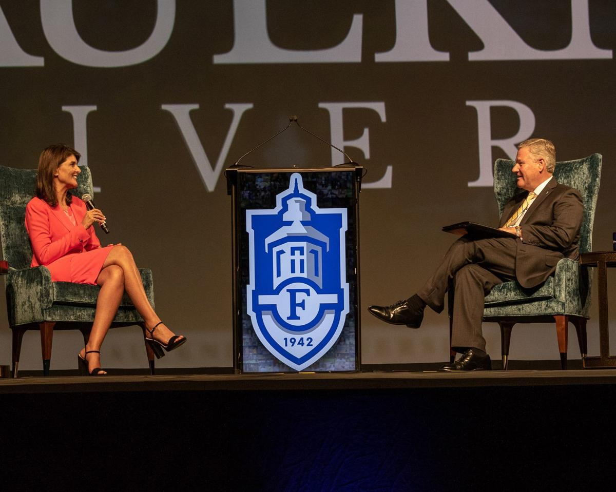 Nikki Haley speaks to sold out crowd at  Faulkner University's Annual Benefit Dinner - 1