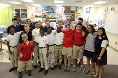 Trinity School and Valiant Cross Academy CyberPatriot Teams gearing up for competition season
