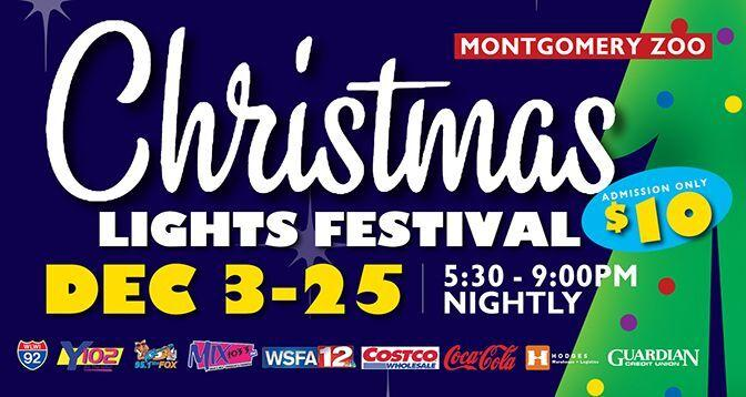 Y102.5 Christmas Events 2021 Montgomery Zoo S Christmas Lights Festival Adds Christmas Tree Village To Its Annual Event News Montgomeryindependent Com